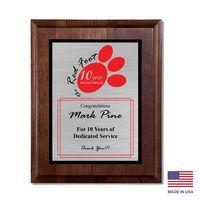 "594245285-182 - Madaket Wood Plaque Award (9""x12"") - thumbnail"