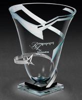"""79837834-182 - Orbiting Star Vase Award (9""""x15""""x9"""") - thumbnail"""