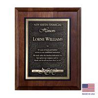 "974242078-182 - Arrival II Wood Plaque Award (9""x12"") - thumbnail"