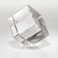 541301866-184 - Canto II Large Corner Crystal Block Award - thumbnail