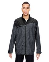 954604572-132 - North End Sport Red Men's Interactive Printed Lightweight Jacket - thumbnail