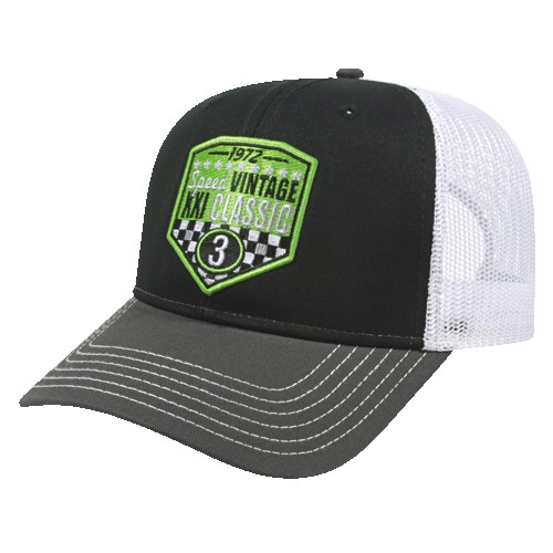315266016-812 - Modified Flat Bill with Mesh Back Cap - thumbnail