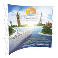 "195048377-183 - 8' Curved Fabric Display (90""Wx89 1/2""Hx24""D) - thumbnail"
