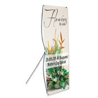 "524033934-183 - X Banner Stand (24""x70"") - thumbnail"