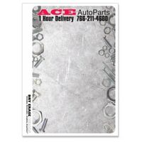 """574035063-183 - 7 Column Weekly Stock Art Full Color Dry Erase Decals (5 1/2""""x8 1/2"""") - thumbnail"""