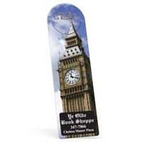 """742861510-183 - Recycled Arch Vinyl Plastic Bookmark w/ Slit (0.015"""" Thick) - thumbnail"""