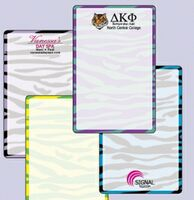 "774035066-183 - Wild Zebra Stock Art Full Color Dry Erase Decals (5 1/2""x8 1/2"") - thumbnail"