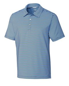 165260820-106 - Cutter & Buck Division Stripe Polo with CB DryTec 50+UPF-Big & Tall - thumbnail