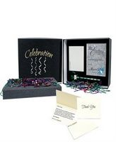 315319576-182 - Silver Leafed Beveled Premium Jade Glass Plaque Recognition Box - thumbnail
