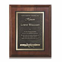 "974242078-182 - Arrival II Wood Plaque Award (9""x12"") - thumbnail"