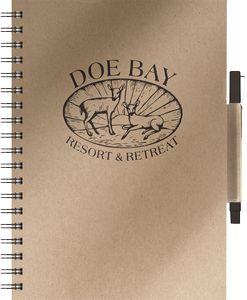 "134061722-197 - EcoBooks Medium EcoNotes NoteBook w/EcoPort® & Pen (8.5""x11"") - thumbnail"