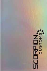 "354060770-197 - Holographic Rainbow™ Flex Journal SeminarPad (5.5""x8.5"") - thumbnail"