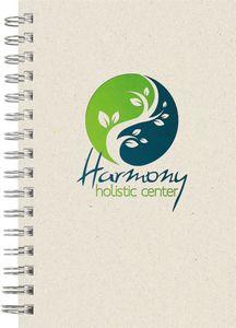"734551876-197 - EcoBooks EcoNote Wire-Bound SeminarPad Notebook (5.5""x8.5"") - thumbnail"