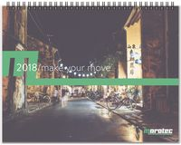"793318940-197 - ThePresident™ ClearView™ Monthly Planner w/Chip Back (11""x8.5"") - thumbnail"
