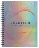 """926058080-197 - Holographic Rainbow™ Journal Large NoteBook (8.5""""x11"""") - thumbnail"""