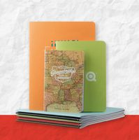 "935338825-197 - ValueLine TravelerNotes™ JotterPad Notebook w/Full Color Wraparound Outer Cover (4""x6"") - thumbnail"