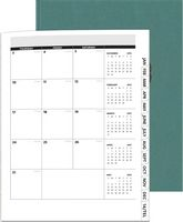 "975061005-197 - Linen Analyst Monthly PerfectPlanners™ (8.5""x11"") - thumbnail"