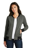 105491471-120 - New Era® Ladies' French Terry Baseball Full Zip Jacket - thumbnail