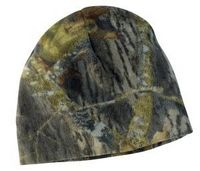 132775119-120 - Port Authority® Camouflage Fleece Beanie Hat - thumbnail