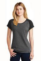 155491228-120 - New Era® Ladies' Heritage Blend Varsity Tee Shirt - thumbnail