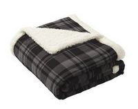 176328704-120 - Port Authority® Value Flannel Sherpa Blanket - thumbnail