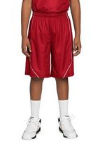 193921257-120 - Sport-Tek® Youth PosiCharge® Mesh Reversible Spliced Shorts - thumbnail