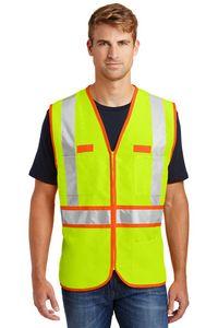 323213518-120 - Cornerstone® ANSI 107 Class 2 Dual-Color Safety Vest - thumbnail