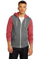 355074733-120 - Alternative® Men's Colorblock Rocky Eco™-Fleece Zip Hoodie - thumbnail