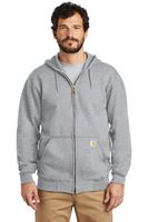 595929578-120 - Carhartt® Midweight Hooded Zip-Front Sweatshirt - thumbnail