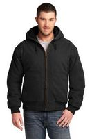 714481447-120 - Cornerstone® Washed Duck Cloth Insulated Hooded Work Jacket - thumbnail