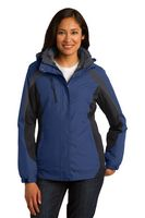 764168350-120 - Port Authority® Ladies Colorblock 3-IN-1 Jacket - thumbnail