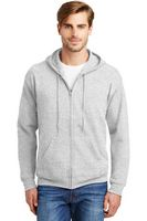 973073789-120 - Hanes® Men's EcoSmart® Full-Zip Hooded Sweatshirt - thumbnail