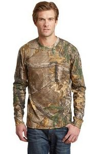 983921081-120 - Russell Outdoors™ Men's RealTree® Long Sleeve Explorer 100% Cotton T-Shirt w/Pocket - thumbnail