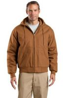 985168590-120 - Cornerstone® Tall Duck Cloth Hooded Work Jacket - thumbnail