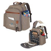 345178015-184 - Carlsbad Picnic Set & Cooler Backpack - thumbnail