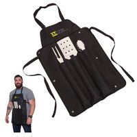 345893494-184 - Super Grill Apron BBQ Set - thumbnail