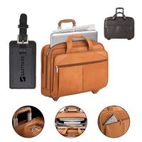 505650768-184 - Solo Walker Leather Rolling Case - thumbnail