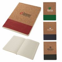 526222720-184 - Boardwalk Two-Tone Cork Junior Notebook - thumbnail