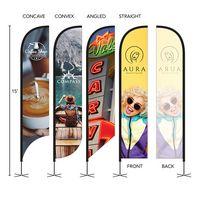 566252608-184 - DisplaySplash 15' Single-Sided Custom Feather Flag - thumbnail