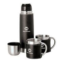 592552583-184 - Cinna I Steel Flask & Cups Travel Set - thumbnail