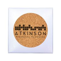 116387590-819 - Deluxe Cork Coaster, Pack of 4 - thumbnail