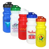 155897921-819 - 20 Oz. Cycle Bottle with Flip Top Lid, Full Color Digital - thumbnail