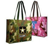 503168130-819 - Non Woven Camo Tote Bag (Full Color Digital) - thumbnail