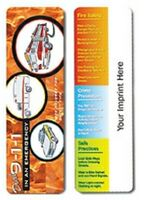 503174976-819 - Emergency Safety Full Color Digital Printed Bookmark - thumbnail
