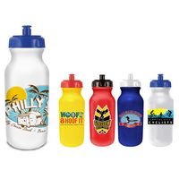 515343234-819 - 20 Oz. Value Cycle Bottle w/ Push 'n Pull Cap (Full Color Digital) - thumbnail