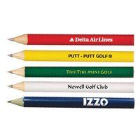 541327606-819 - Round Golf Pencil (No Eraser) - thumbnail
