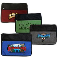 925563283-819 - Double Zipper Accessory Bag, Full color digital - thumbnail