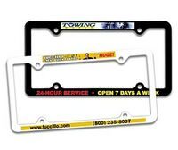942256524-819 - Thin Panel License Plate Frame w/ 4 Holes (Full Color Digital) - thumbnail