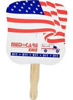 963723744-819 - Stock Waving Stars & Stripes Hand Fan - thumbnail