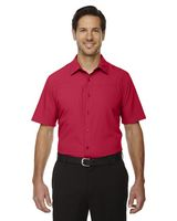 194579414-132 - North End® Men's Charge Recycled Polyester Performance Short Sleeve Shirt - thumbnail